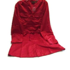 Logo Instant Chic Red Christmas Dress M